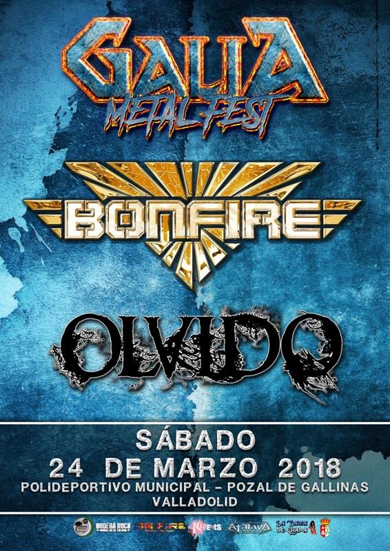 Galia Metal Fest - Bonfire y Olvido