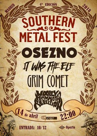 Grim Comet estará en la 4ª edición del Southern Metal Fest