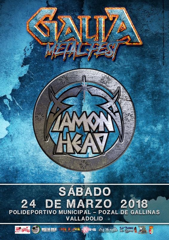 Galia Metal Fest 2018 Diamond Head