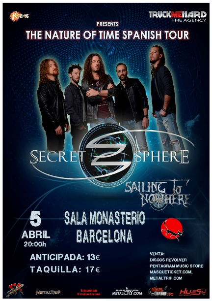 Secret Sphere en Barcelona