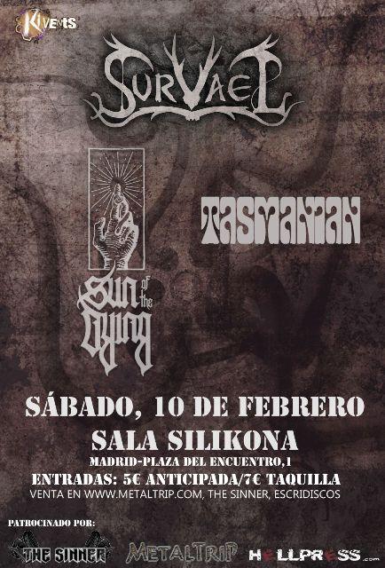 Survael, el sábado 10 de febrero en Madrid