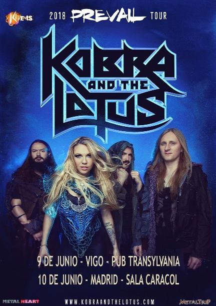 Kobra and The Lotus fechas web peq