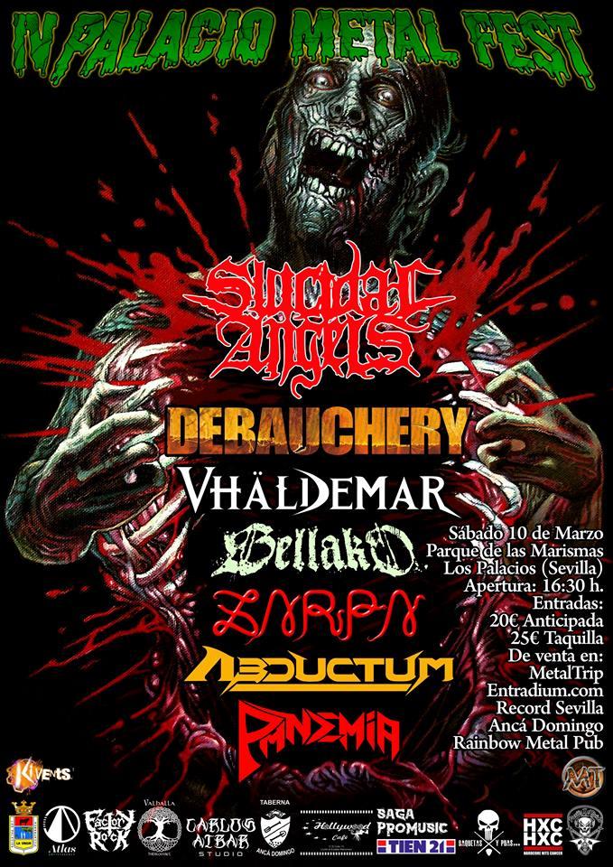 10 de Marzo Palacio Metal Fest