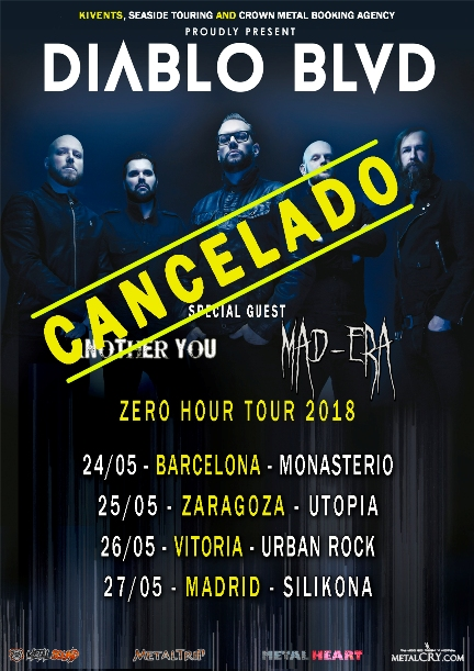 Diablo BLVD - Tour Cancelado