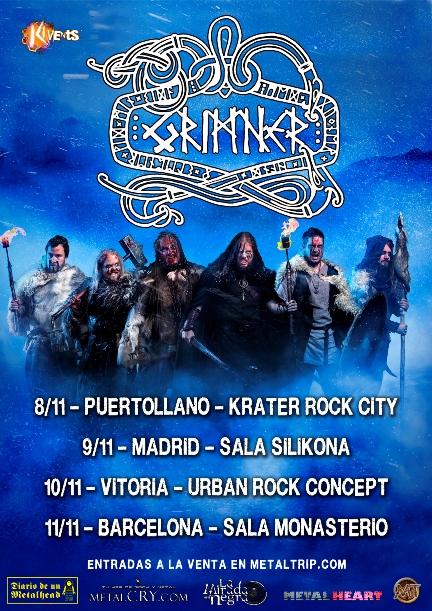 Grimner Spanish tour