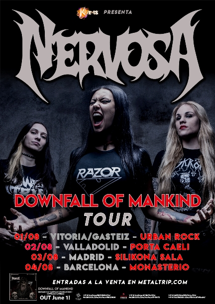 Nervosa - Spanish Tour