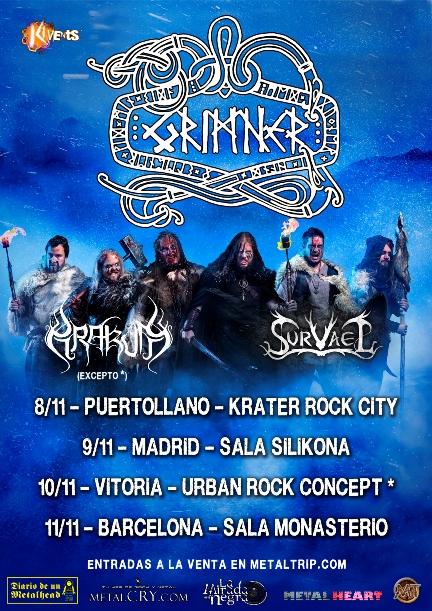 Grimner - Spanish tour 2018