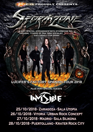 Stormzone: Lucifer´s Factory Spanish Tour