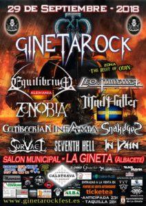 In Vain y Survael estarán el 29 de Septiembre en el Gineta Rock