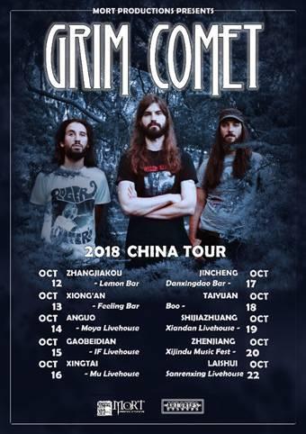 Grim Comet en China