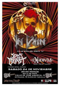Lee más sobre el artículo In Vain en Madrid el 24 de noviembre