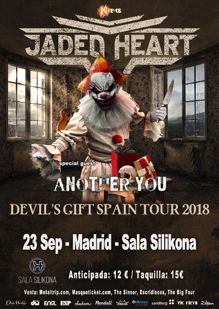 Jaded Heart en Madrid