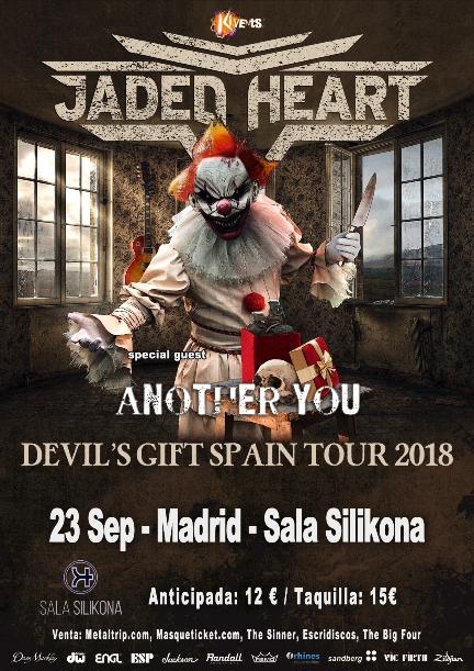 Jaded Heart en Madrid