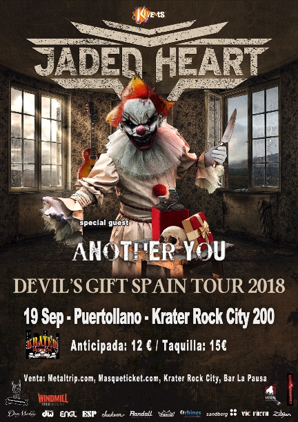 Jaded Heart en Puertollano