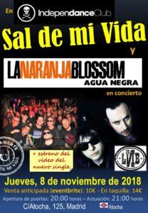 Sal de mi Vida en concierto en Madrid