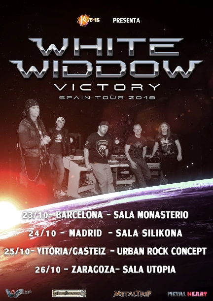 White Widdow: todos los detalles de su gira por España