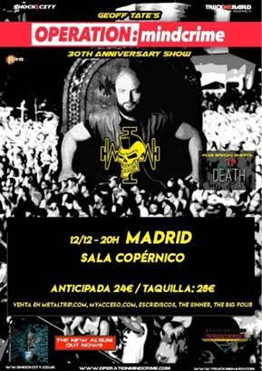 Operation: Mindcrime en Madrid