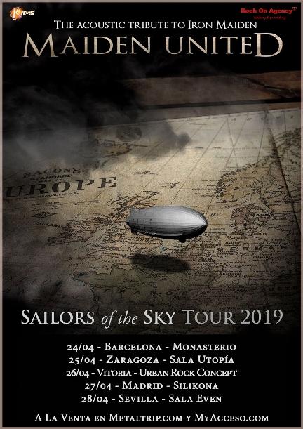 Maiden United - Spanish Tour