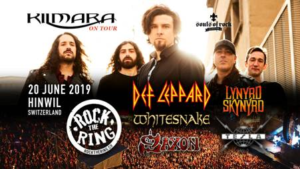 Kilmara confirmados en el festival Rock the Ring en Suiza