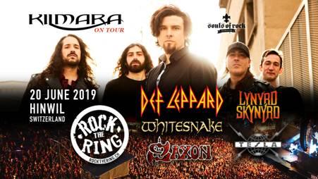 Kilmara confirmados en el festival Rock the Ring en Suiza