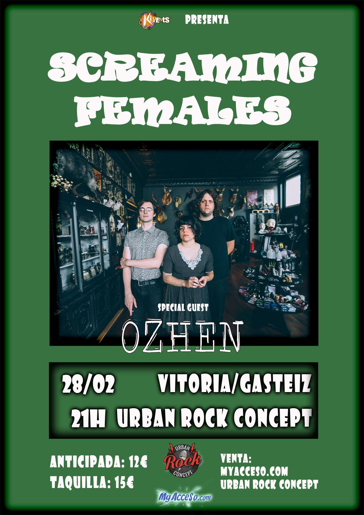 Screaming Females en Vitoria/Gasteiz el 28 de Febrero: todos los detalles
