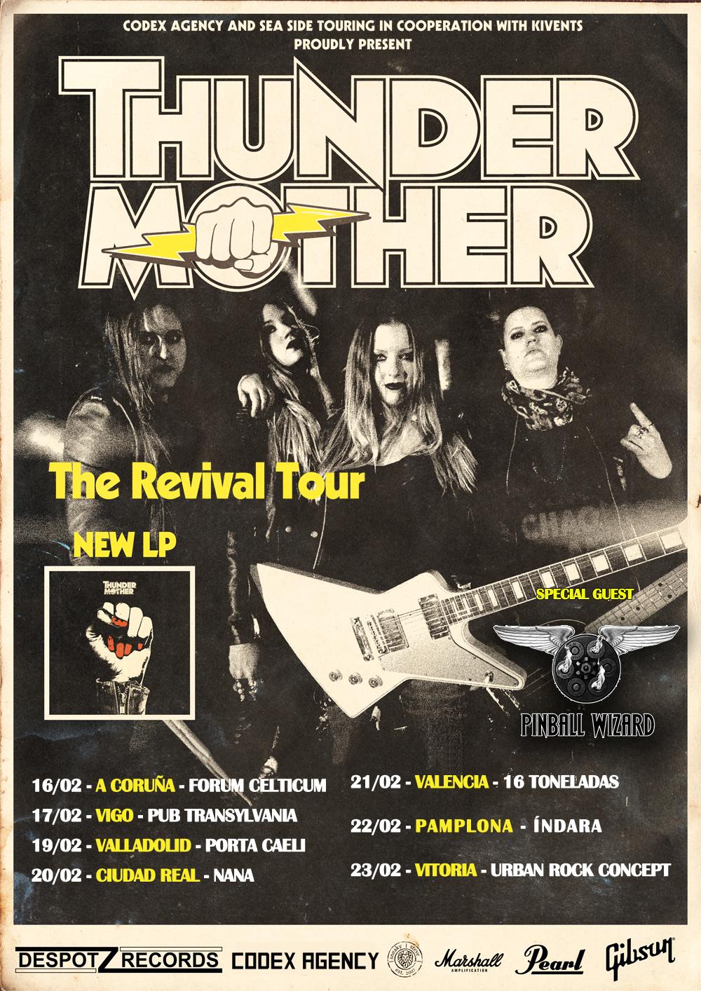 Comienza la gira de Thundermother
