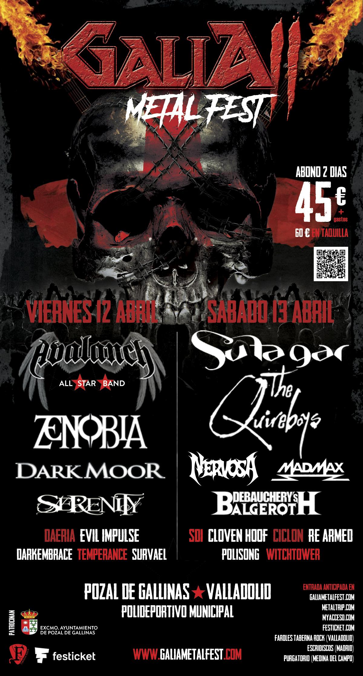 Galia Metal Fest: Todos los detalles