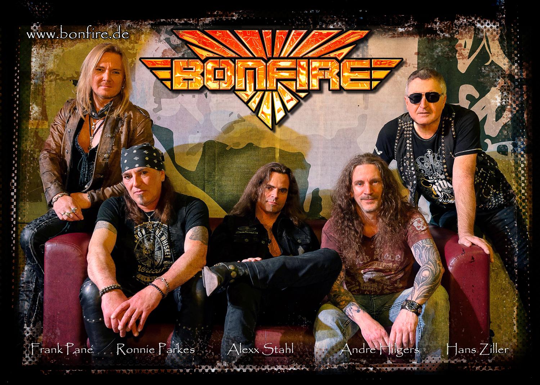 Bonfire vuelven con el «Fistful Of Fire Tour 2020»
