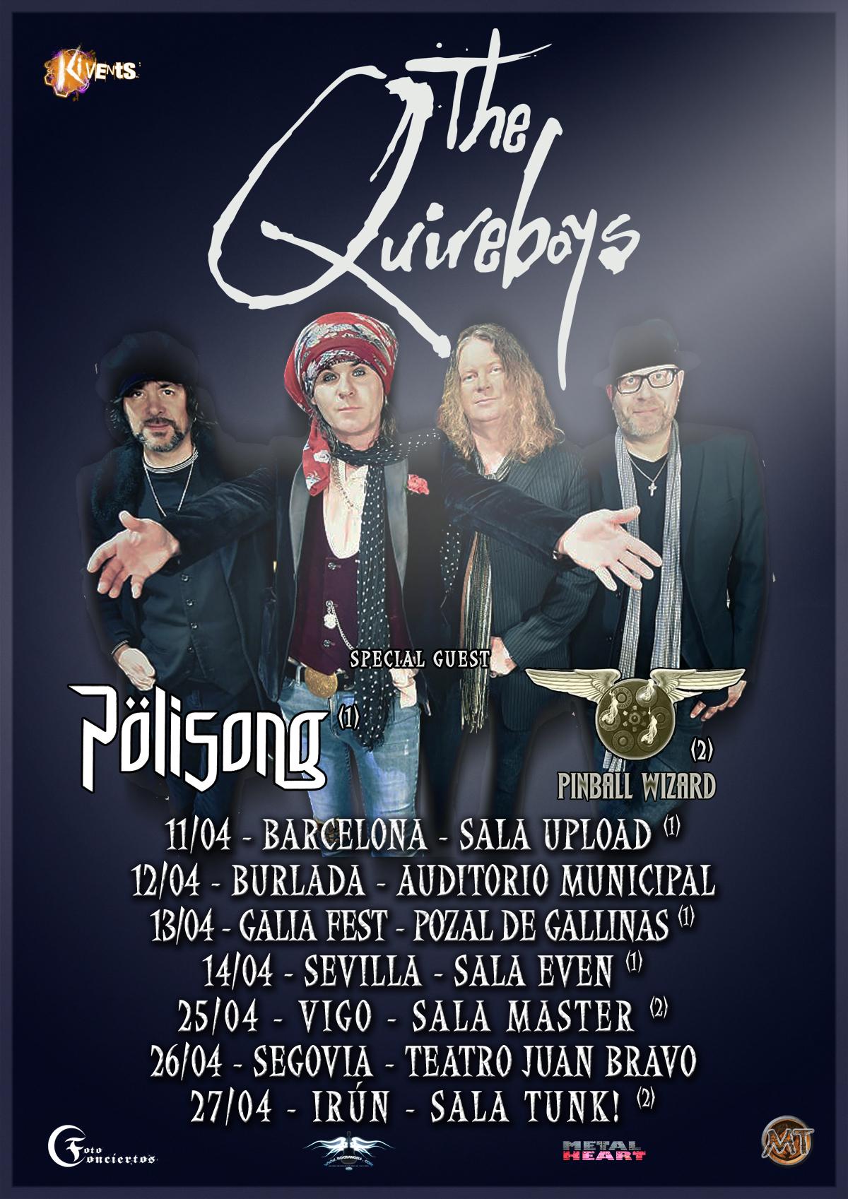 The Quireboys: nuevo álbum y fechas española