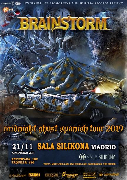 Brainstorm el 21 de noviembre en Madrid