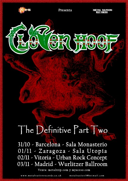 "Cloven Hoof - ""The Definitive Part Two"""