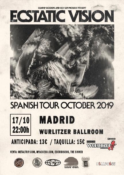 Ecstatic Vision el 17 de octubre en Madrid