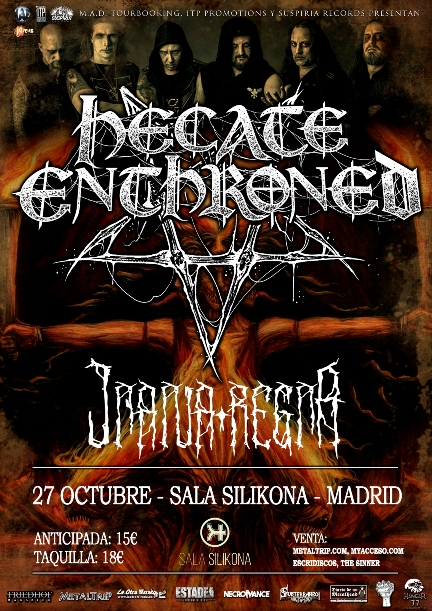Hecate Enthroned en Madrid