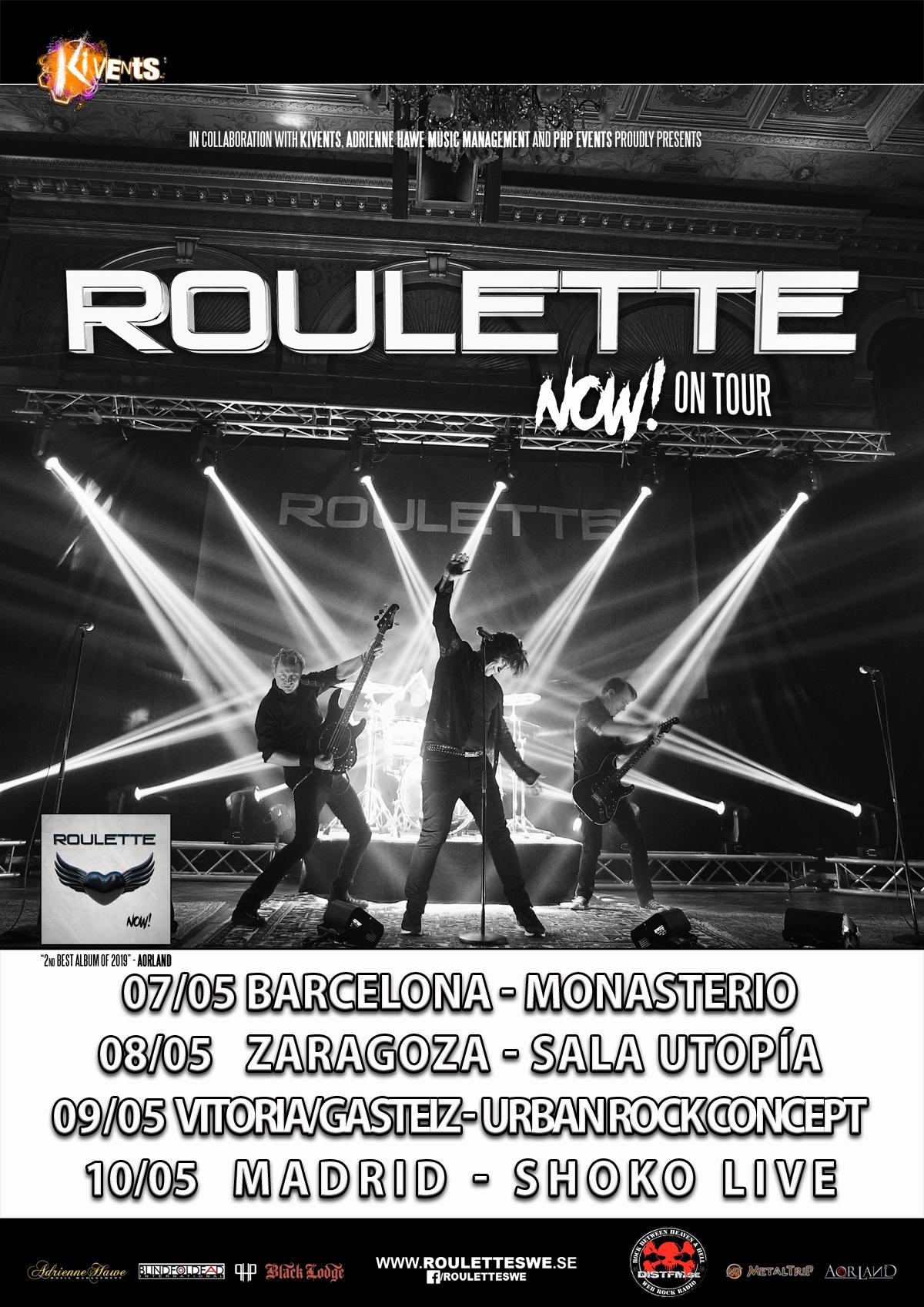 Nuevo video de Roulette y bandas invitadas