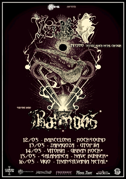 Inferno Spanish Tour