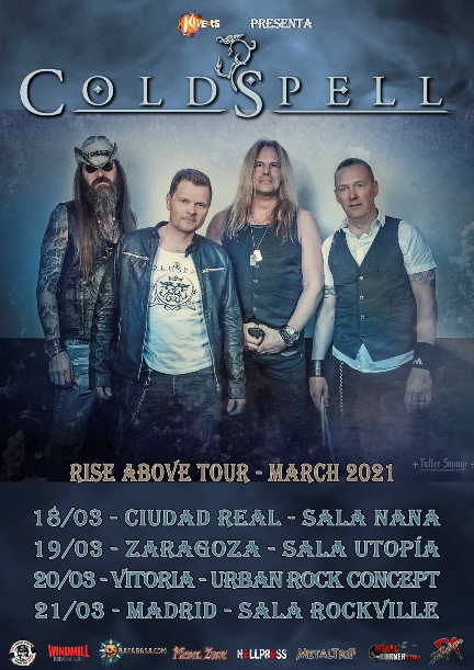 "Coldspell - ""Rise About Tour – March 2021"""