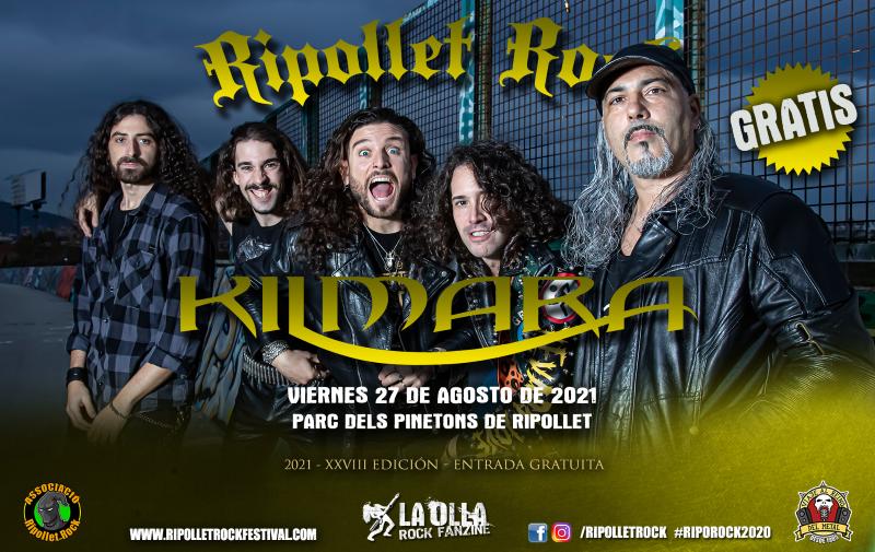 Kilmara confirmados al Ripollet Rock Festival 2021