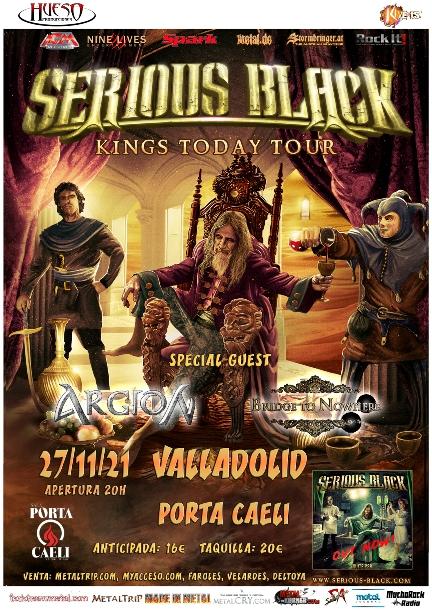 Serious Black en Valladolid