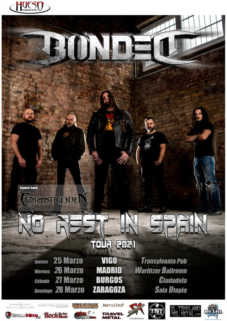 "Bonded - ""No Rest In Spain 2021"""