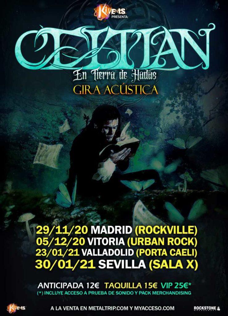 """Celtian - """"En Tierra de Hadas - Gira Acústica"""""""