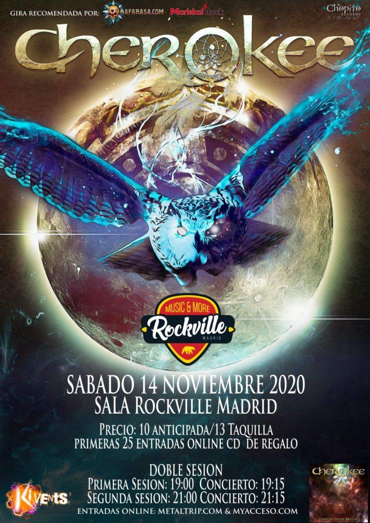 Cherokee en Madrid