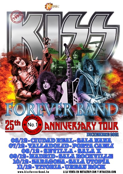 "Kiss Forever Band - ""25th Anniversary Tour"""