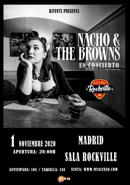 Nacho & The Browns en Madrid