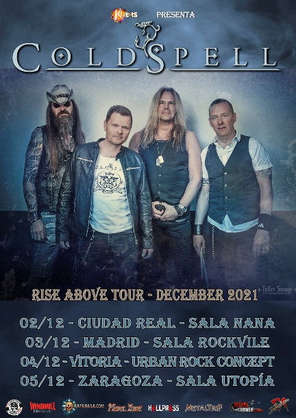 """Coldspell - """"Rise About Tour 2021"""""""