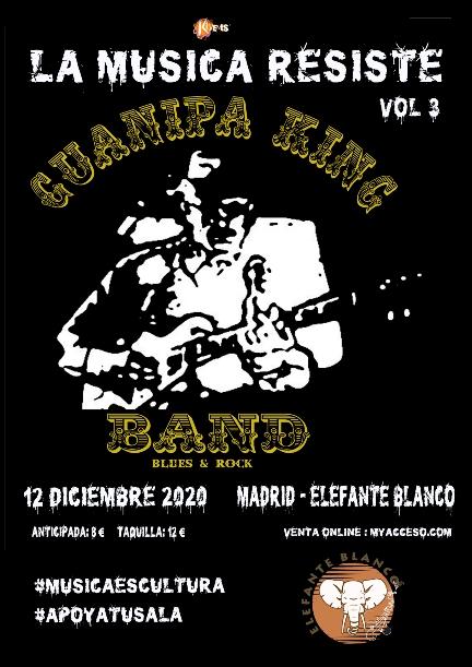 Guanipa King Band en Madrid