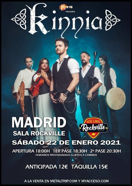 Kinnia en Madrid