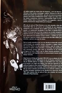 """""""Metal Extremo. 30 años de oscuridad (1981 – 2011)"""" – Salva Rubio"""