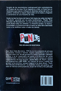 """Punk. 3 Décadas de resistencia"" – Marc Gras"