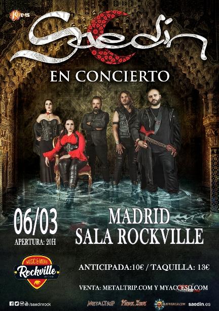 Saedín en Madrid