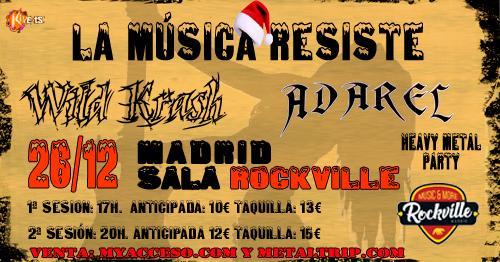 Heavy Metal Party Adarel y Wild Krash fb